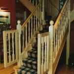 Solid Walnut Staircase
